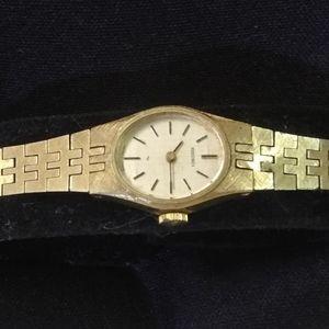 Ladies Vintage Gold Watch